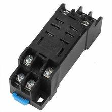Support de Rail pour LY2NJ LY2   Support de la piste, 8 broches, Base de relais pour LY2NJ LY2