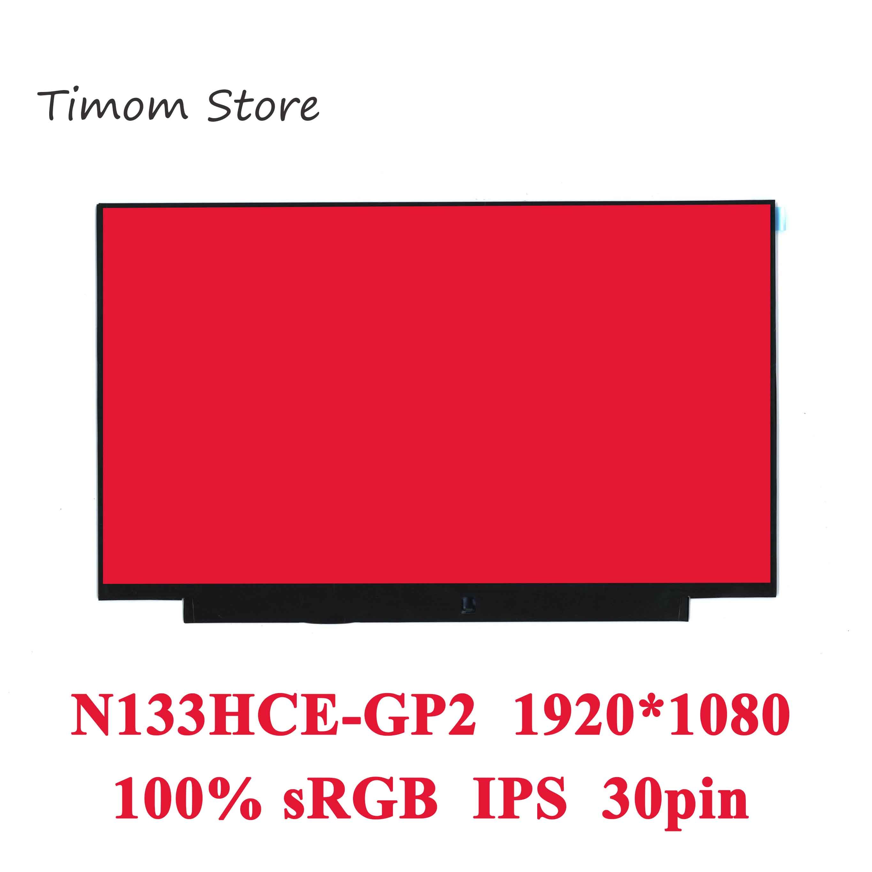 N133HCE-GP2 100% sRGB brillante Slim para Innolux 13,3 LCD LED Monitor eDP...
