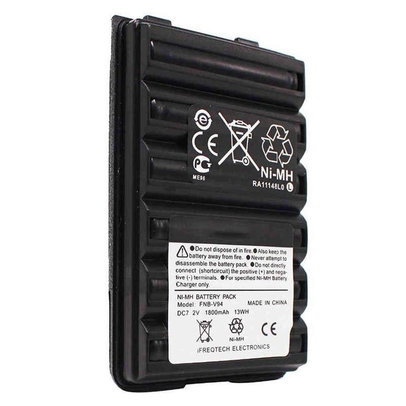 Caliente Fnb-V94 Fnb-83 Fnb-V57 batería de 1800Mah para Yaesu vértice Vx210 Vx400 Vx170 Ft-60