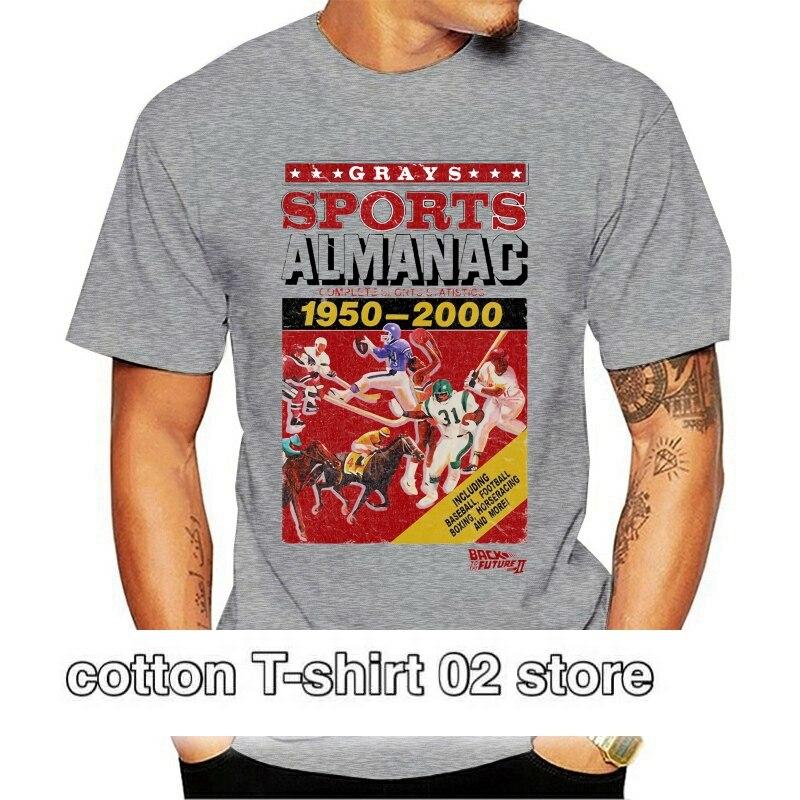 Volver al futuro Ii Almanaque de deportes camiseta adulto Unisex para hombres...