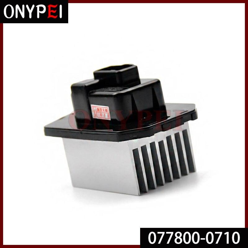 077800-0710 ventilador calentador de coche Motor de ventilador resistencia para Honda CRV CR-V 01-06 0778000710 de 077800 a 0710