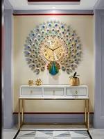 watch wall clock living room modern simple atmospheric wall watch personality creative clock fashion home quartz clock