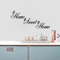 Autocollants muraux anglais amovibles en vinyle  decoration douce pour la maison  DIY bricolage