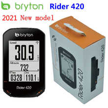 Bryton Rider 420 GPS Cycling Computer Enabled Bicycle/Bike Computer and Bryton mount Waterproof wireless speedometer New 2020