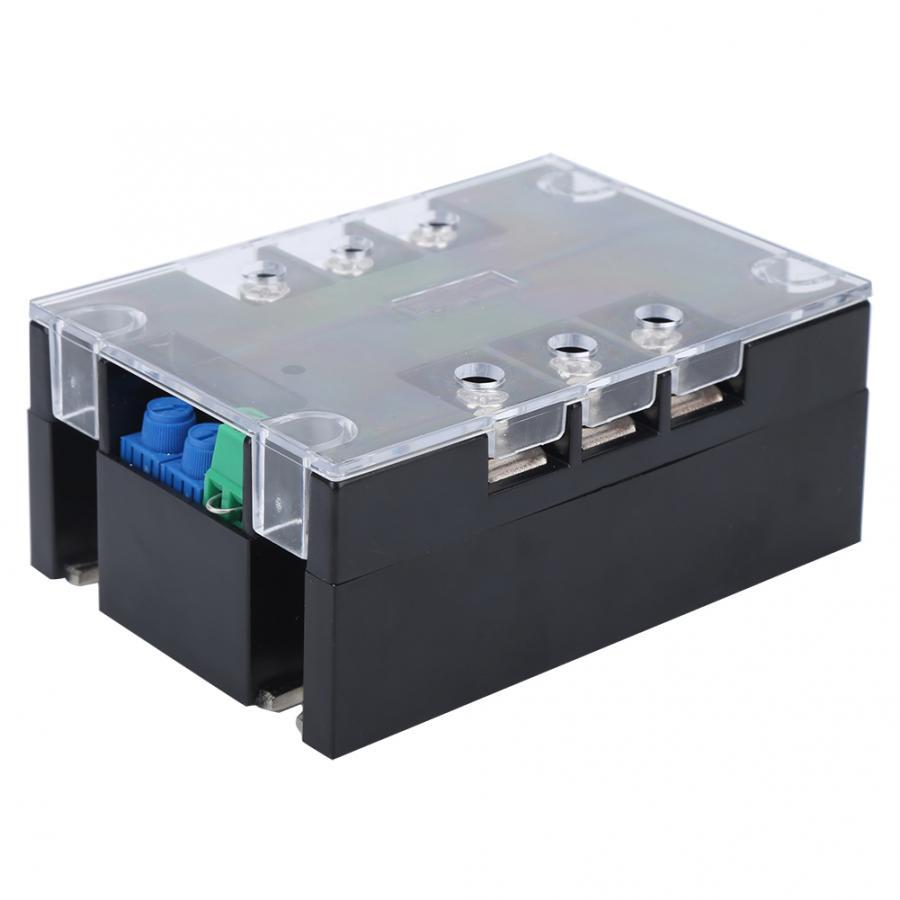 Controlador de módulo de arranque suave con Motor trifásico, relé inferior de latón, controlador de módulo de arranque de TSR-100WA-R1, 220V