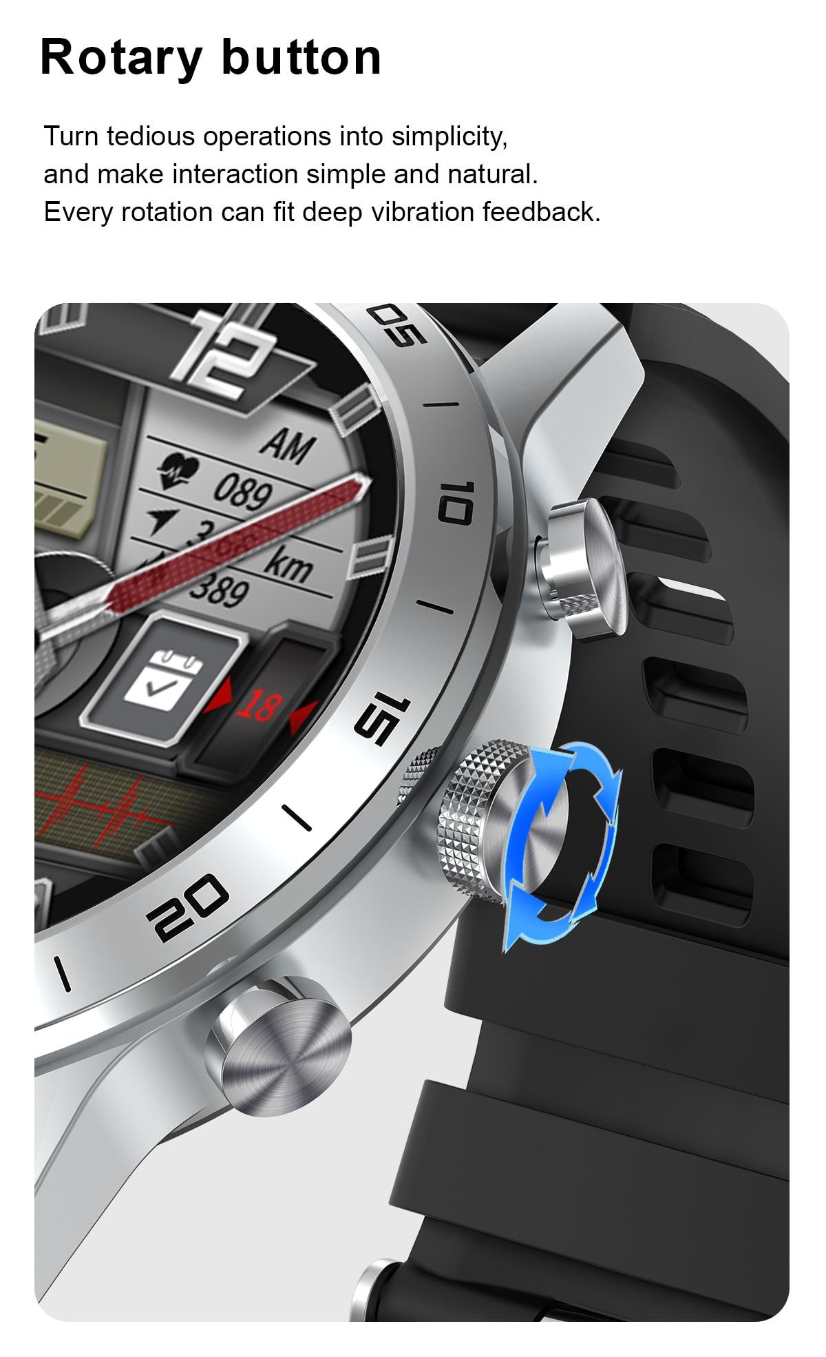 SANLEPUS Wireless Charging Smart Watch 2021 NEW IP68 Waterproof Smartwatch Men's Watches Fitness Bracelet For Apple Android