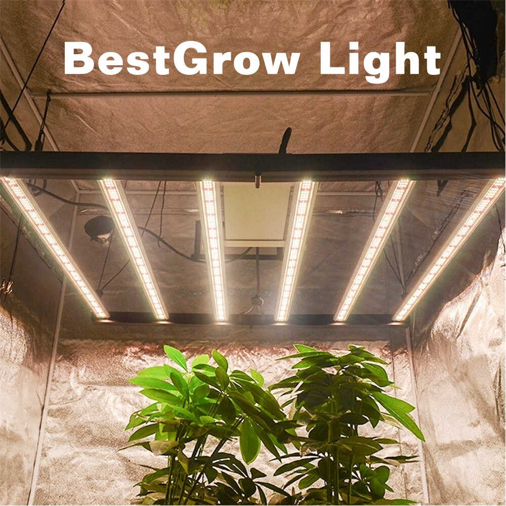 ETL Certification 1000W Dimming Quantum tech board Samsung LM301B LED grow light for Indoor Veg flower Foldable phytolamp