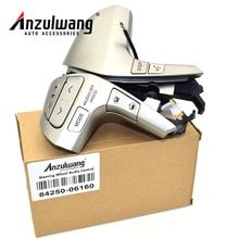 ANZULWANG-bouton de commande Audio de volant   Bluetooth, 84250-06160 pour Toyota Camry Corolla Hilux Vigo Highlander Innova