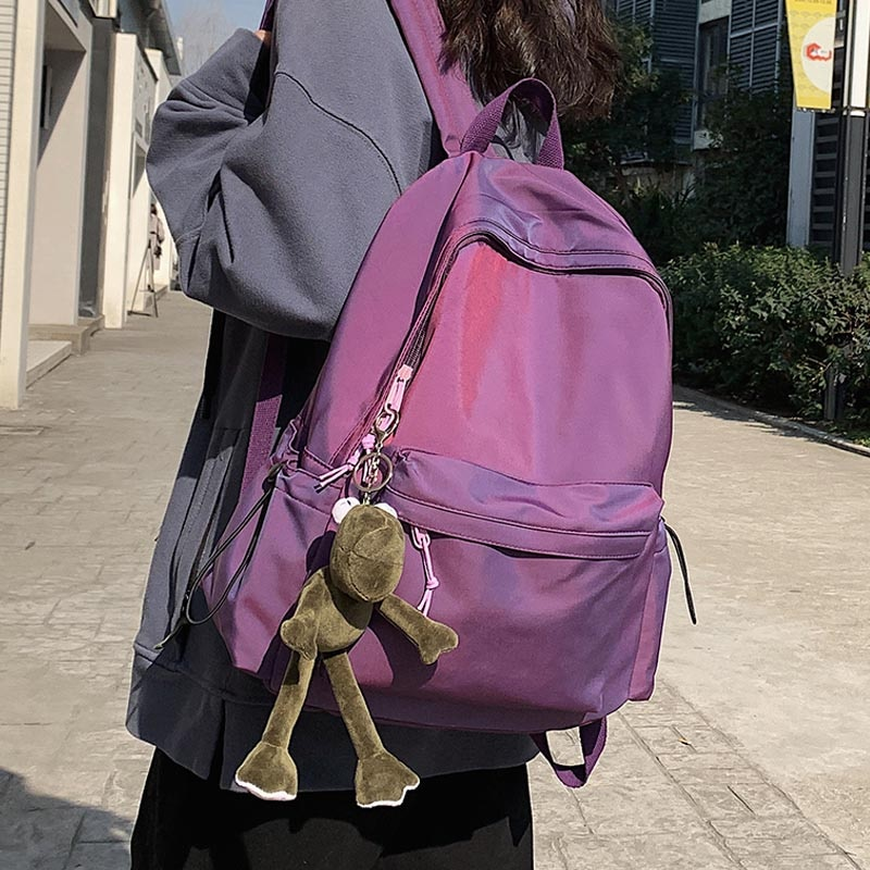Women's Backpack Female Fashion New Backpack Unisex Large Capacity Laptop Backpack Nylon for Lady Schoolbag Cute Student Bag недорого