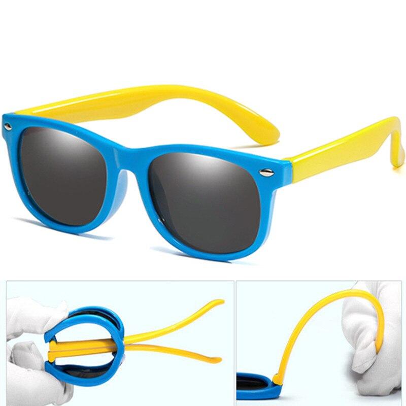 Nuevas Gafas de sol polarizadas de 20 colores para niños y niñas, Gafas de sol de moda para bebés, Gafas de sol para niños, Gafas UV400