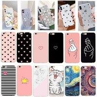 Прозрачный чехол для телефона iPhone 11 Pro Max, 6, 6s, 7, 8 Plus, XS, XR, X, SE, 2020 Искусственная любовь, сердце, маргаритки, цветы, мягкий силиконовый чехол, зад...