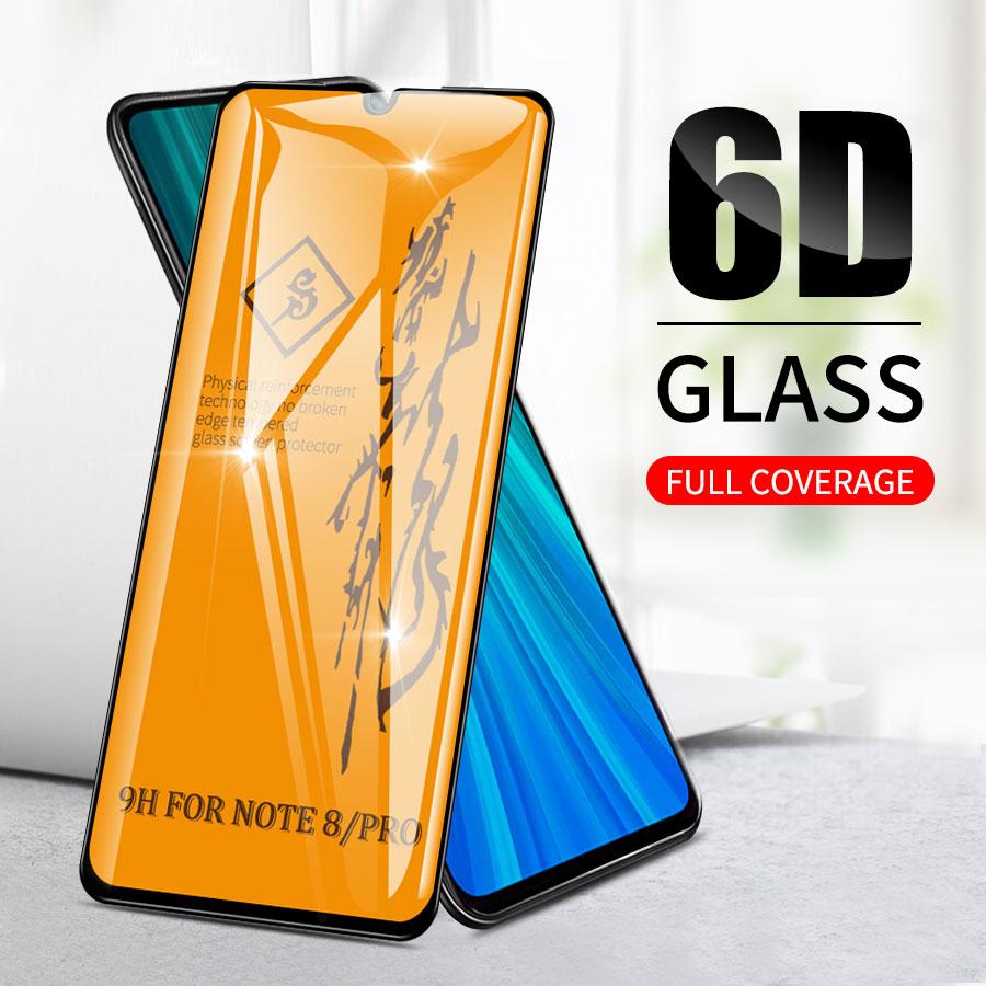 6D Volle Kleber Premium Gehärtetem Glas für Xiaomi Mi A3 A2 9T CC9 CC9e 9 9se 8 8se 6X 5X Lite Pocophone F1 Screen Protector Film