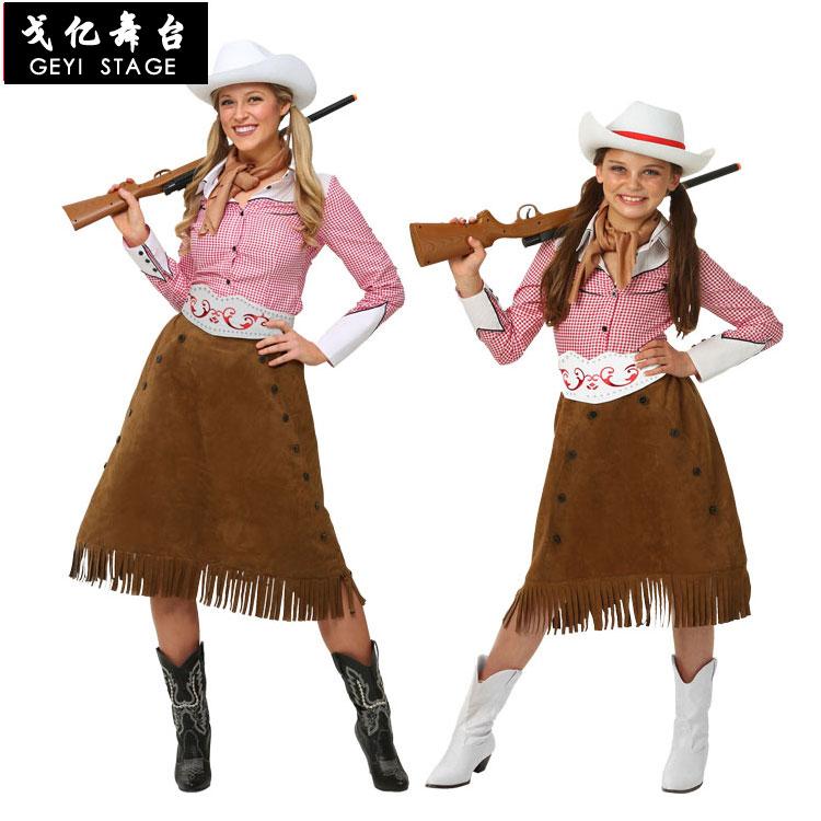 Cowgirls traje cosplay para as mulheres ocidental deserto polícia traje terno halloween traje para adulto menina carnaval roupas