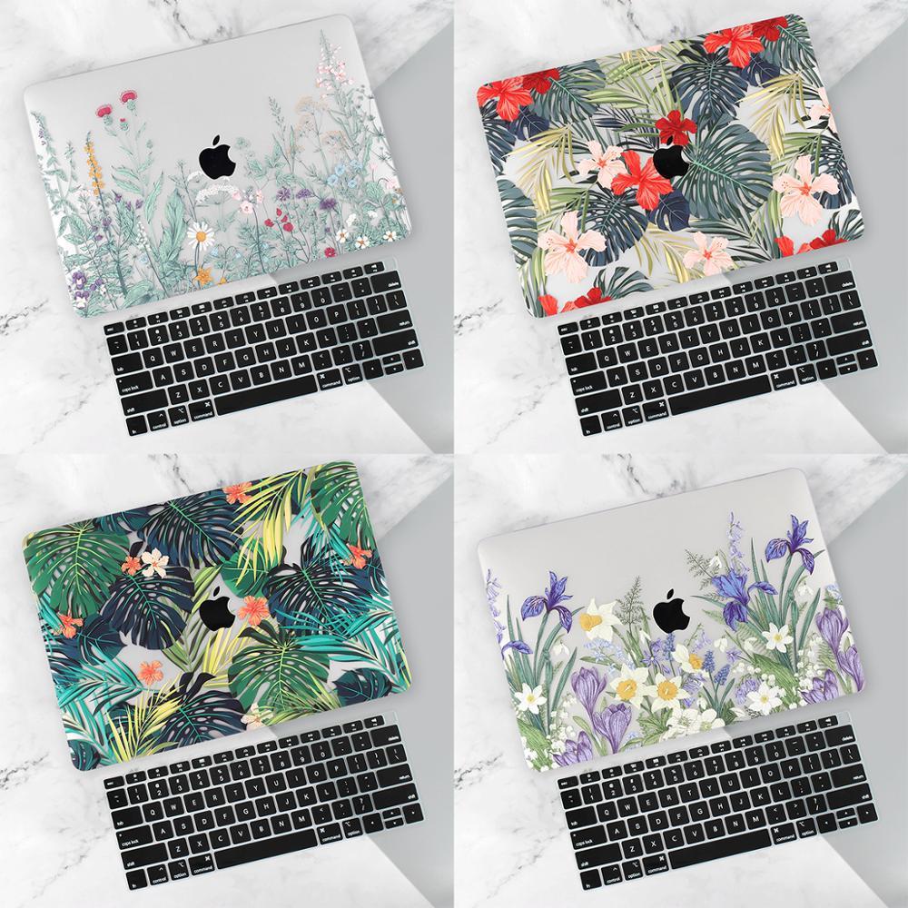 """Funda de portátil para MacBook Air 12 11 Pro 13 15 A1502 mac Libro 12 13 15 """"2020 barra táctil A1708 A2159 A2289 carcasa dura"""