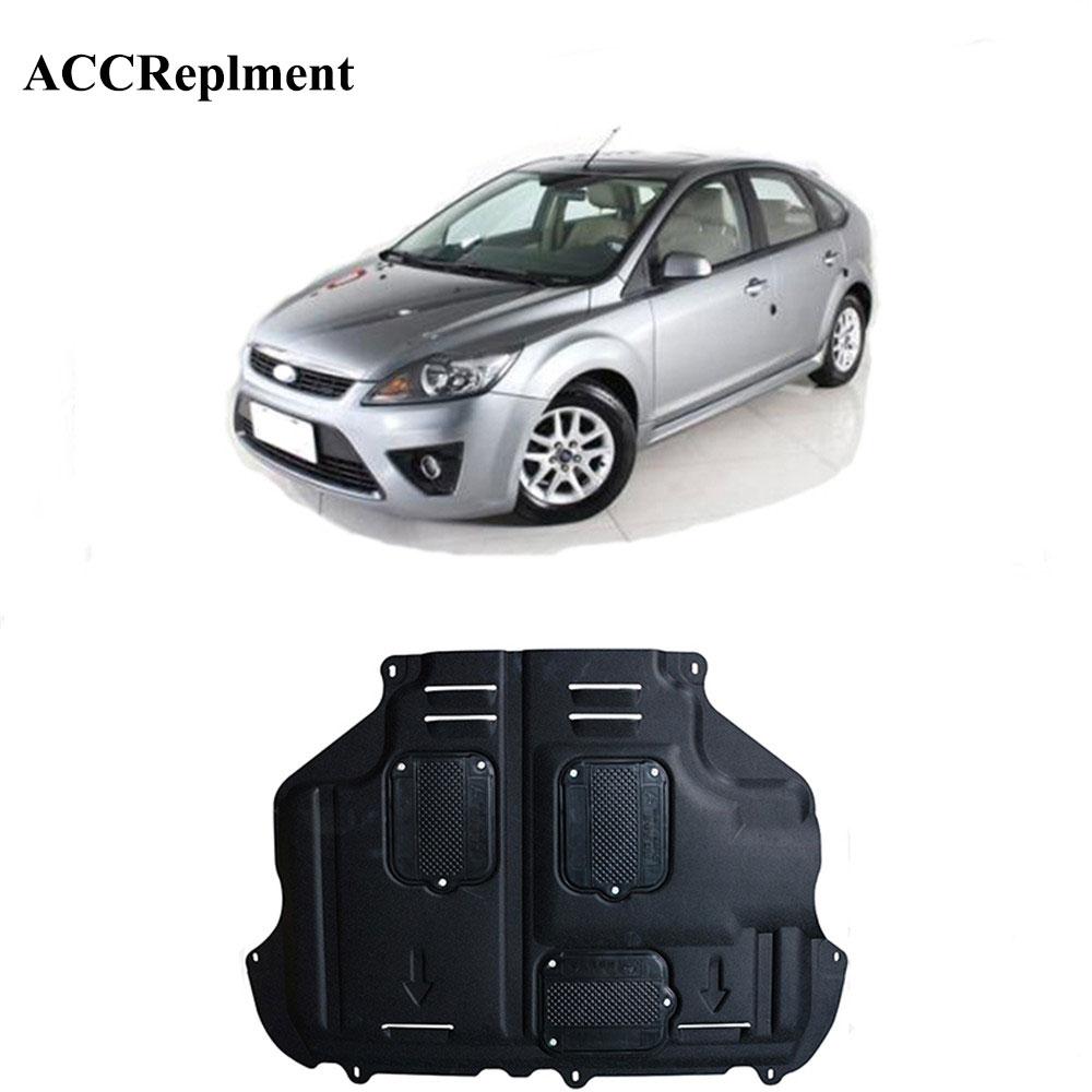 Protetor de respingo de motor ford focus, proteção de lama, fender 2007-2011, 1 peça