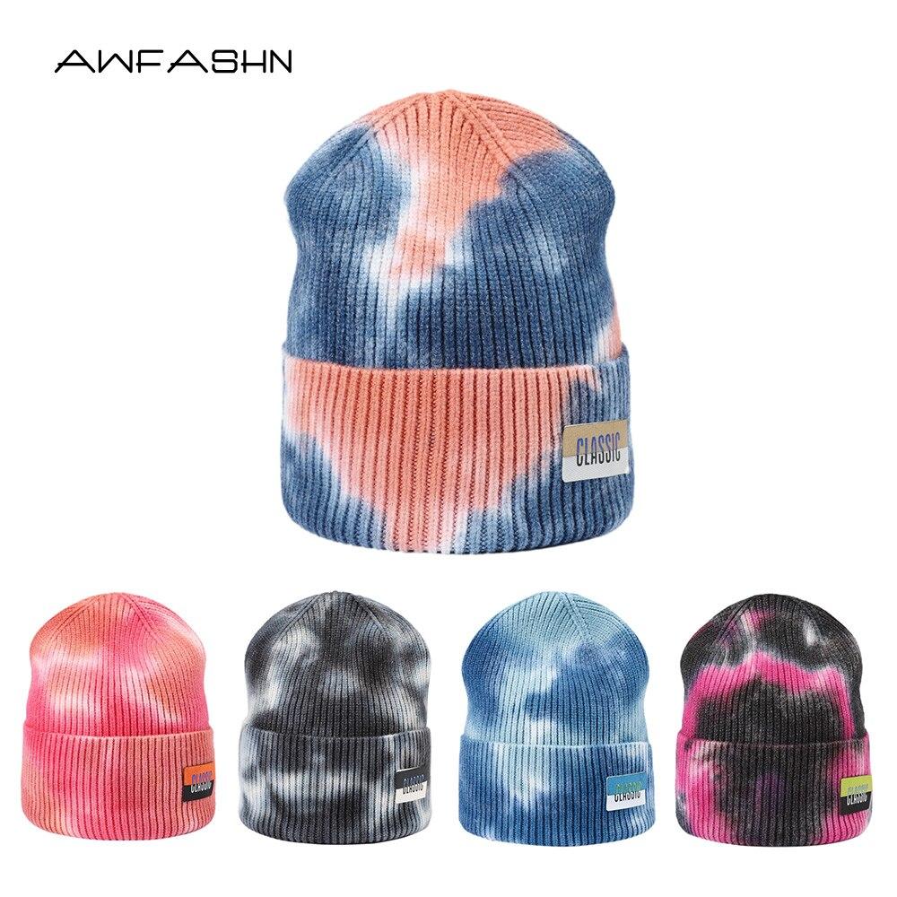Зимняя шапка 2021 шапка с завязкой женская шапка мужская шапка вязаная шапка в стиле хип-хоп Уличная модная теплая шапка с черепом шапка унисе...
