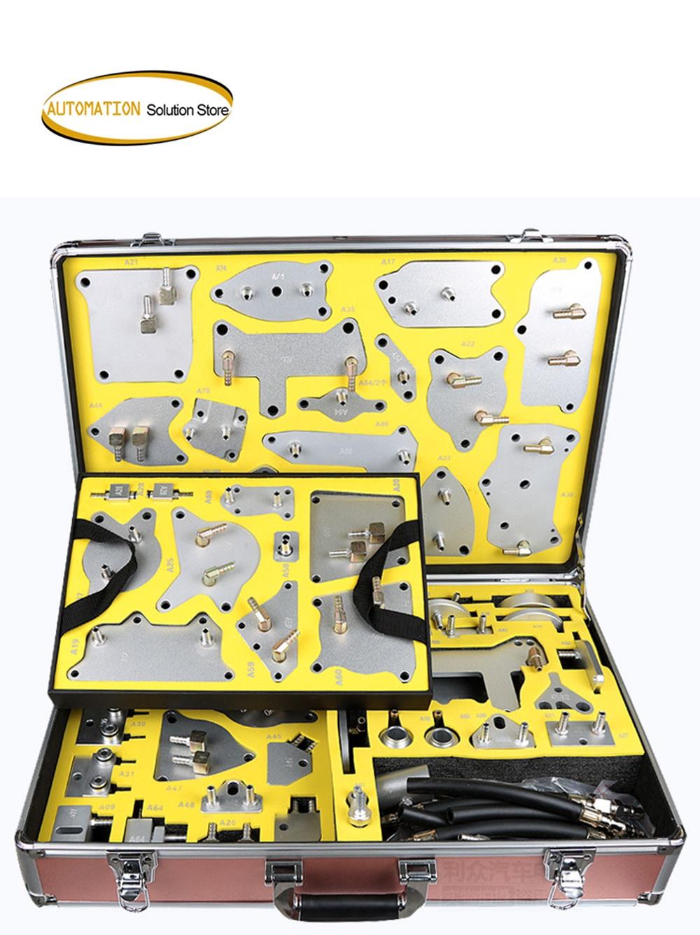 مضخة استبدال زيت سبائك الألومنيوم ، ناقل حركة أوتوماتيكي احترافي ، علبة تروس ، 116 قطعة