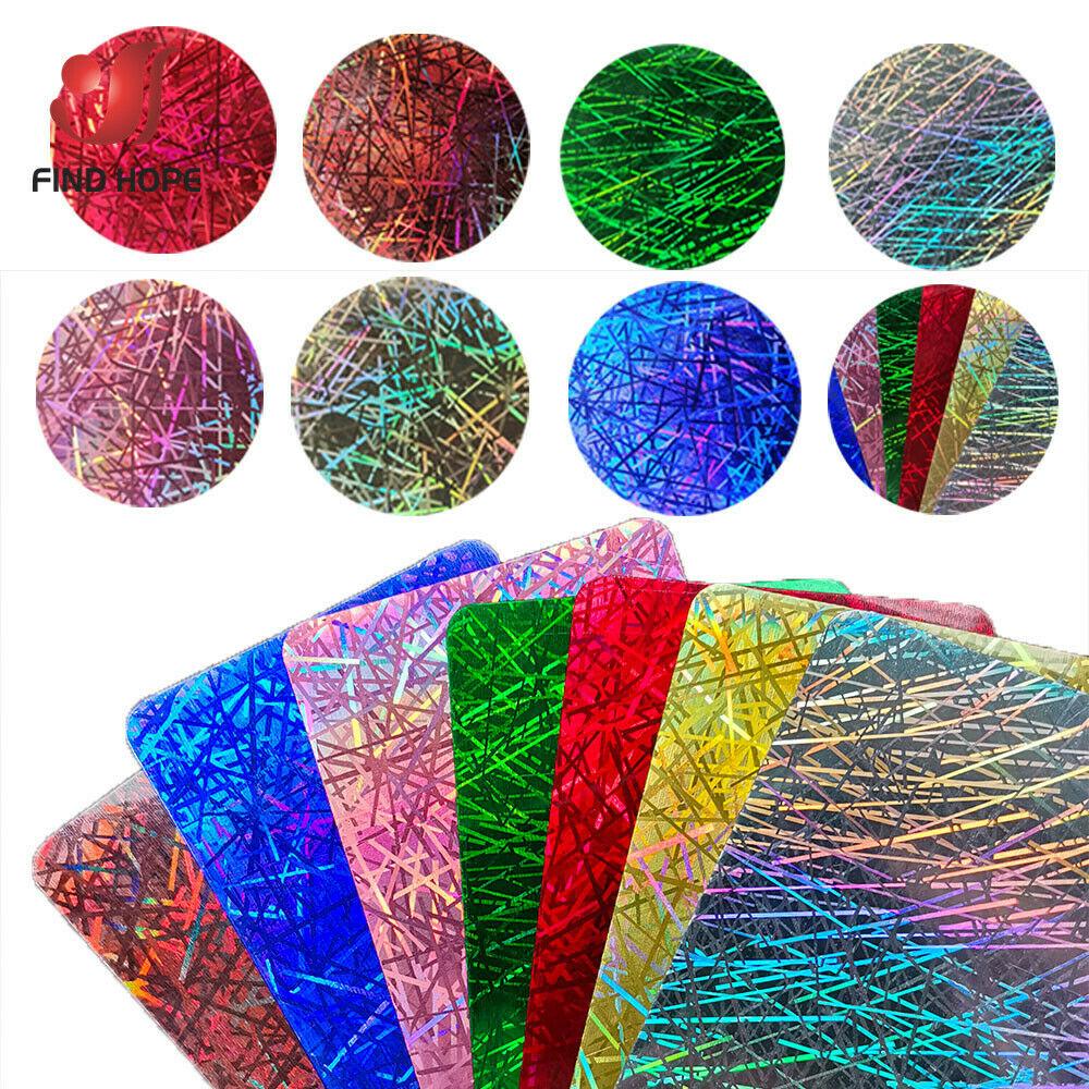 20/30/50*100cm Hologram iridescent Chrome Heat Transfer Vinyl Iron-on Heat Press Textile T-Shirt Cricut Film DIY