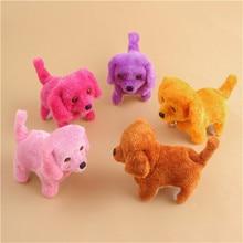 1pcs Lovely Electronic Toys Dog For Kids Baby Toys Sound Control Electronic Dog walking singing Inte