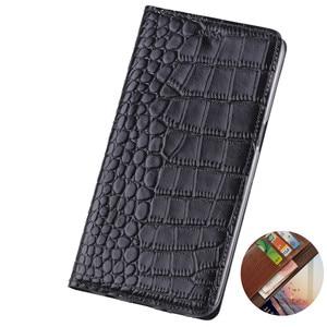 Crocodile grain genuine leather wallet phone case card holder for Samsung Galaxy A72 A52/Galaxy A42/Galaxy A32/Galaxy A12 cases