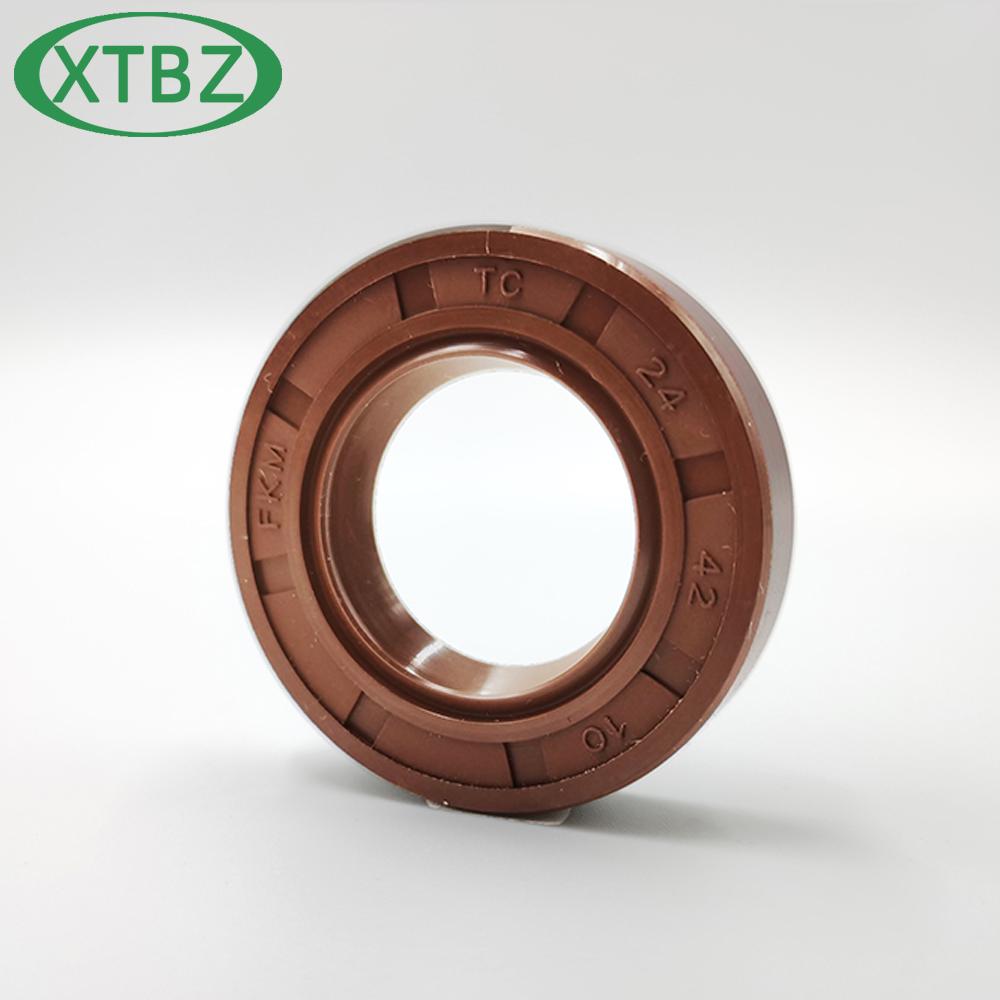 FKM Oil Seal Rotary Shaft TC-9*18/19/20/22/24*7 10*16/17/18/19/20/21/22/23/24/25/26/28*4/5/6/7/8/10Tc oil seals High temperature