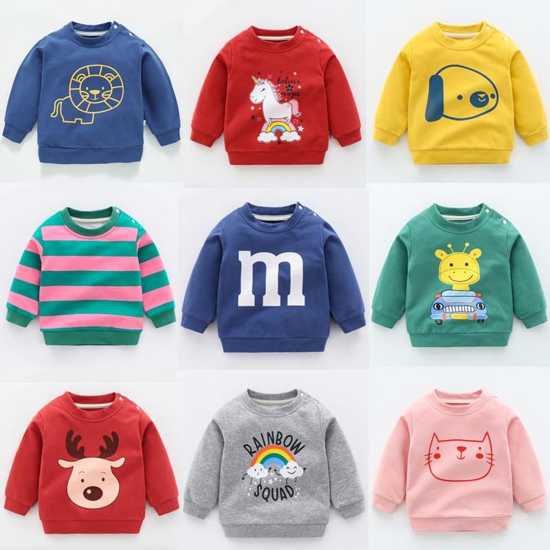 New sweatshirts for boy children's sweatshirt unicorn christmas tops for girls kids costume undefined baby boy clothes Hoodies