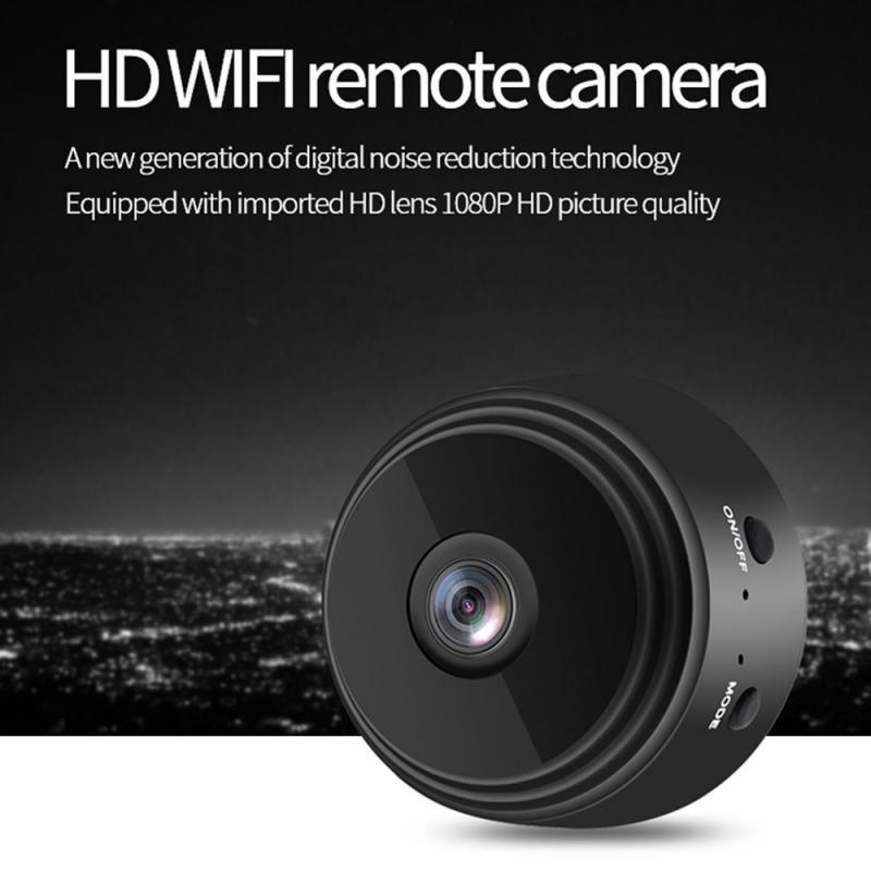 A9 1080P HD IP Mini Camera Security Remote Control Night Vision Mobile Detection Video Surveillance Wifi Camera Hid Den Camera