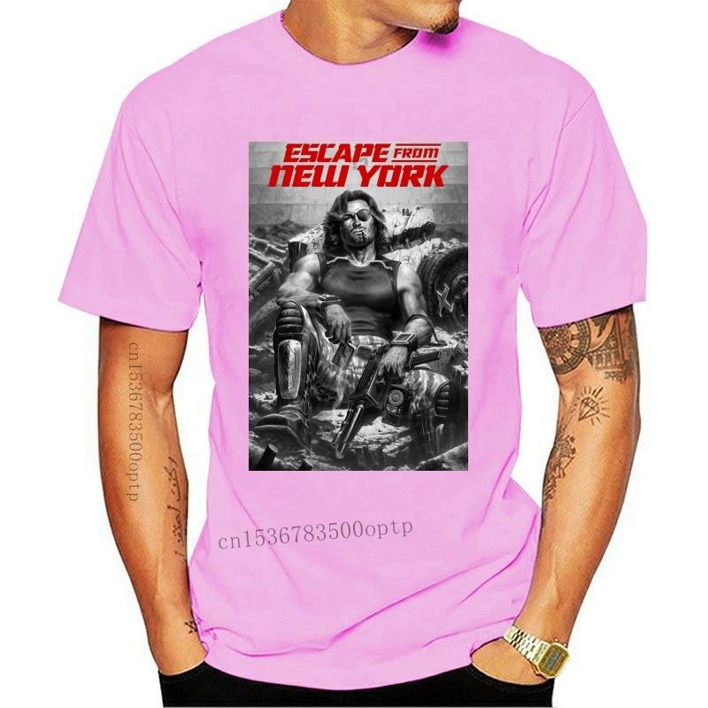 New Escape From 2021 York Kurt Russell Classic Cult Movie Fan T Shirt(1)