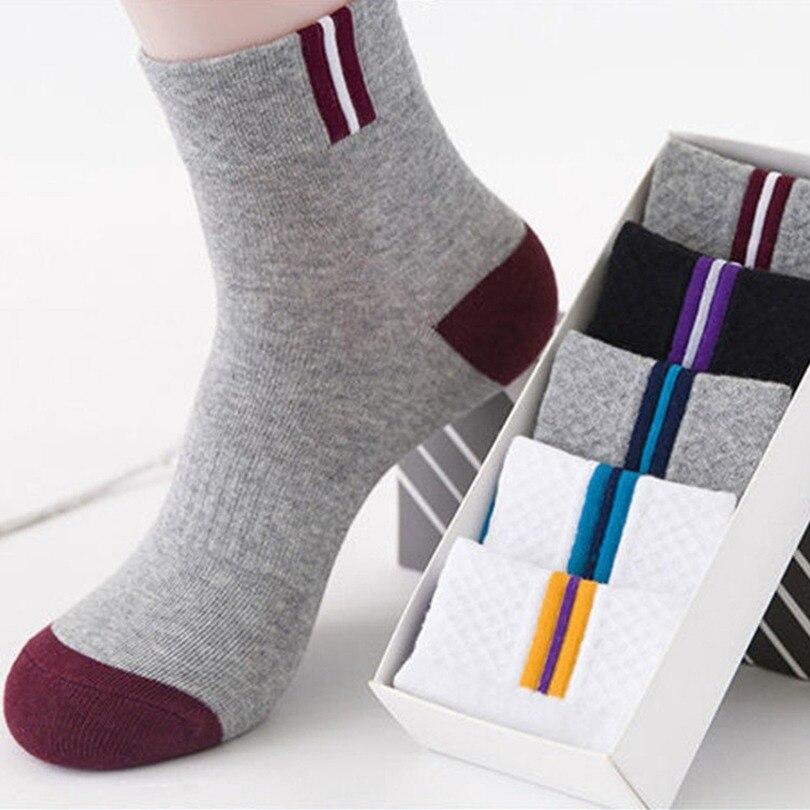 Мужские повседневные носки, дышащие хлопковые носки до щиколотки, спортивные носки, мужские короткие носки, мужские носки