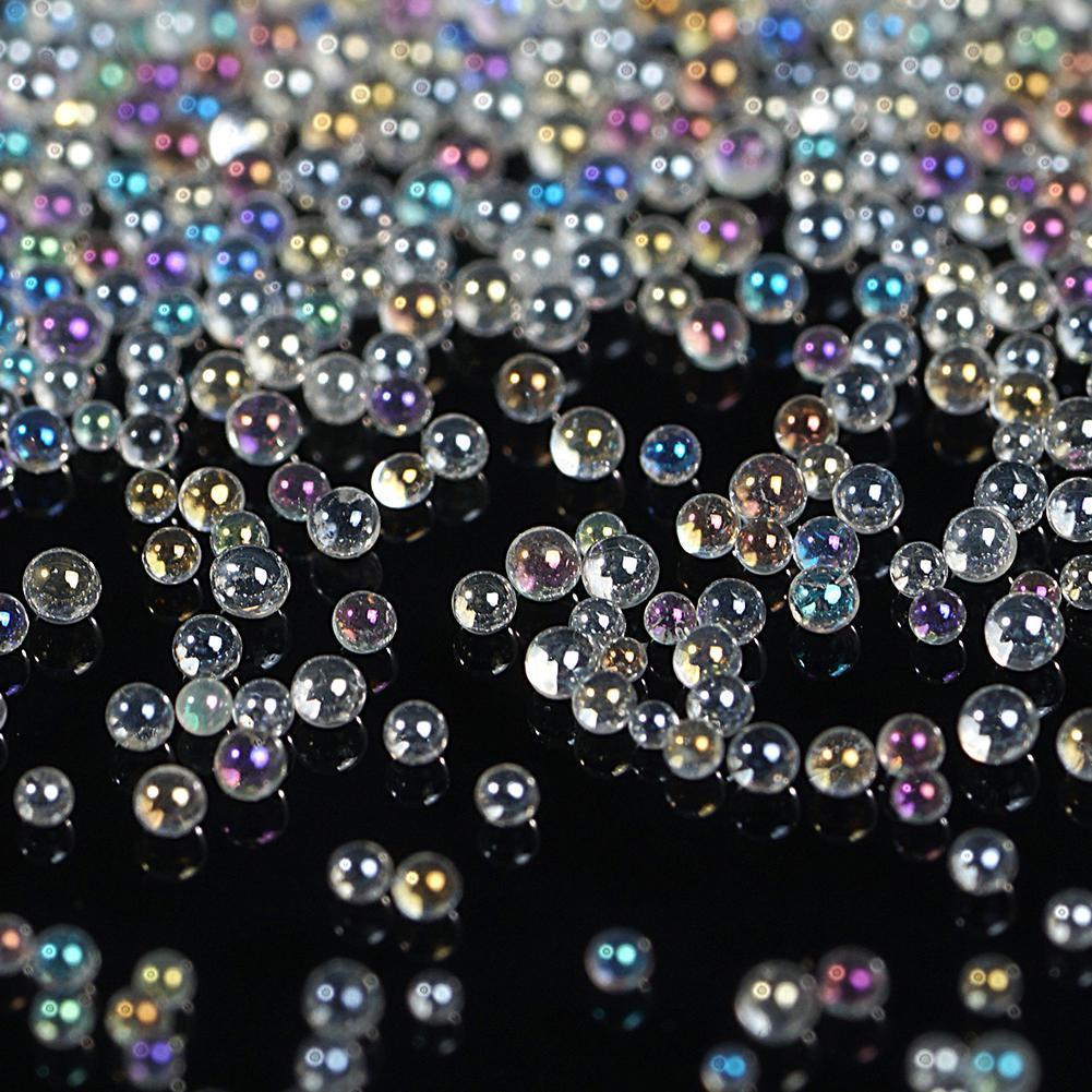 Crystal AB Broth For Nails Caviar Beads Glitter Rhinestones Bead Design Tiny Art Nail Decoration For Nails 3D Broth For Nai X6O8