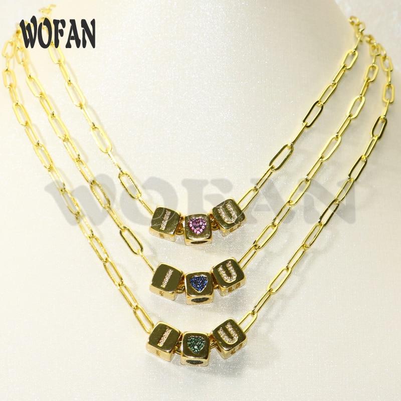 Collar de amuletos de cubo de oro de 3 uds, collar de tres amuletos de cubo, regalo para mujer, joyería artesanal, collar de amuletos de zirconio 50614