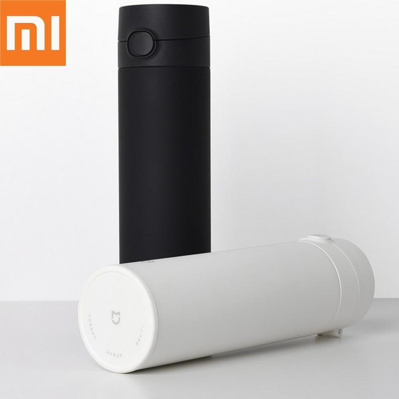 Xiaomi Mijia الترمس كوب 2 الفولاذ المقاوم للصدأ فراغ 480 مللي قدرة السفر المحمولة كوب ماء العزل قفل الباردة مرونة التبديل