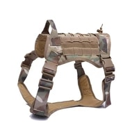 tactical dog harness german shepherd pet dog harness vest nylon bungee dog leash harness for small large dogs