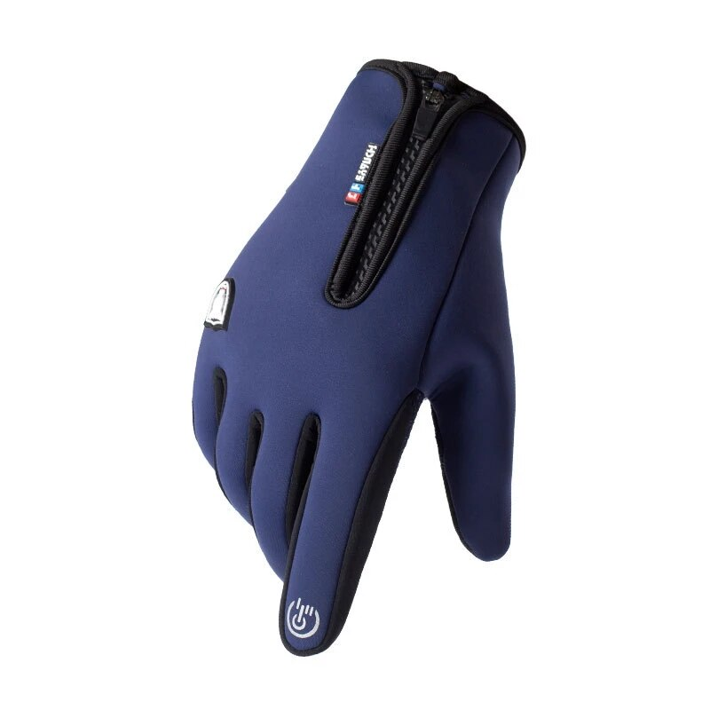 Waterproof Winter Gloves For Men Women Autumn Winter Nonslip Skiing Windproof Warm Cycling Reflective Touch Screen Gloves