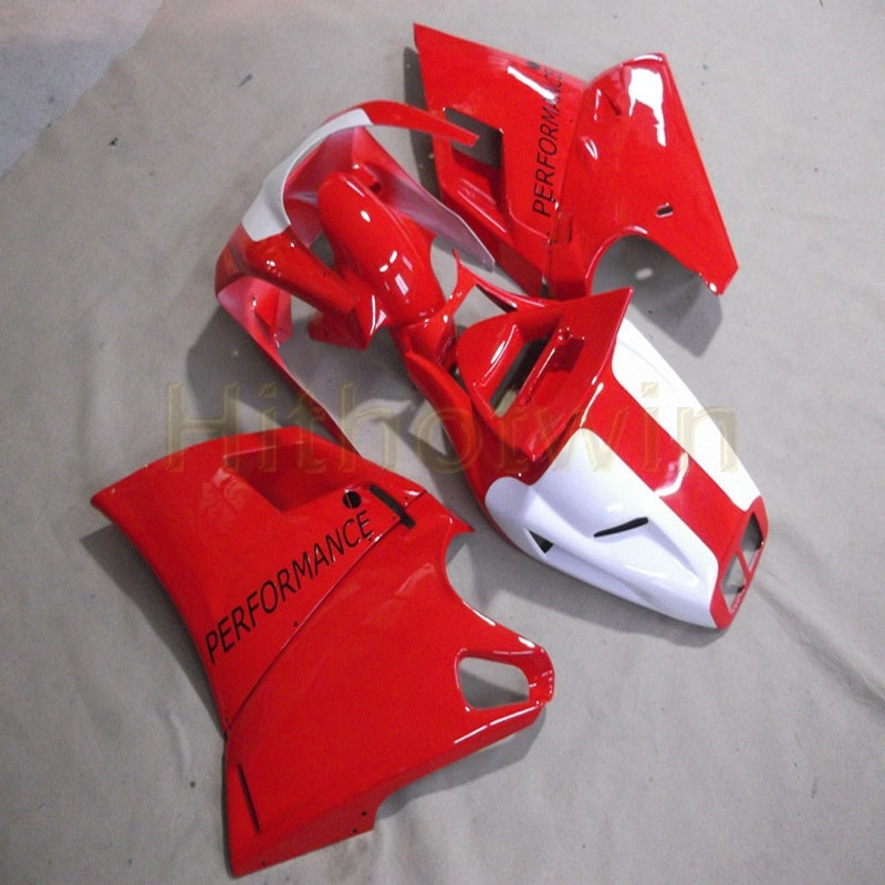 Tornillos + cubierta de motocicleta roja plateada personalizada para 748 916 996 1996 1997 1998 1999 2000 2001 2002 kit de carenado de motor ABS M2