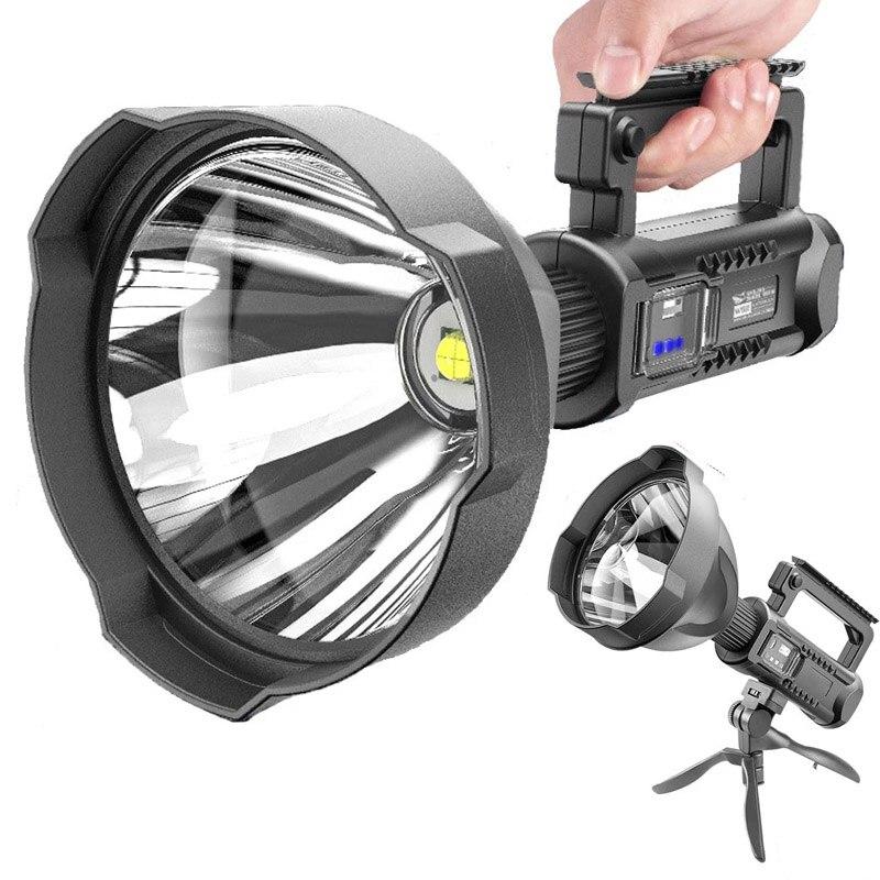 مصباح ليد جيب قوي XHP50/XHP90 يده الكشاف LED الإضاءة USB الشعلة 8000 التجويف السوبر مشرق المحمولة الأضواء
