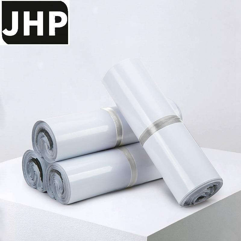 100 шт., самоклеящиеся полиэтиленовые пакеты белого цвета, среднего и маленького размера