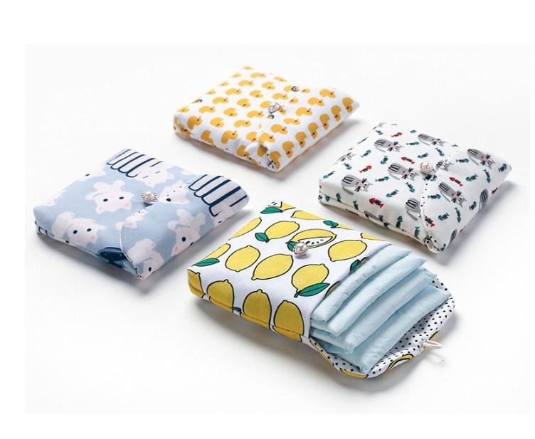 1 Uds., organizador de paquetes de viaje, bolsas pequeñas, bolsa de almacenaje de pañuelos sanitarios para mujer, monedero para chica, tarjetero, estuche