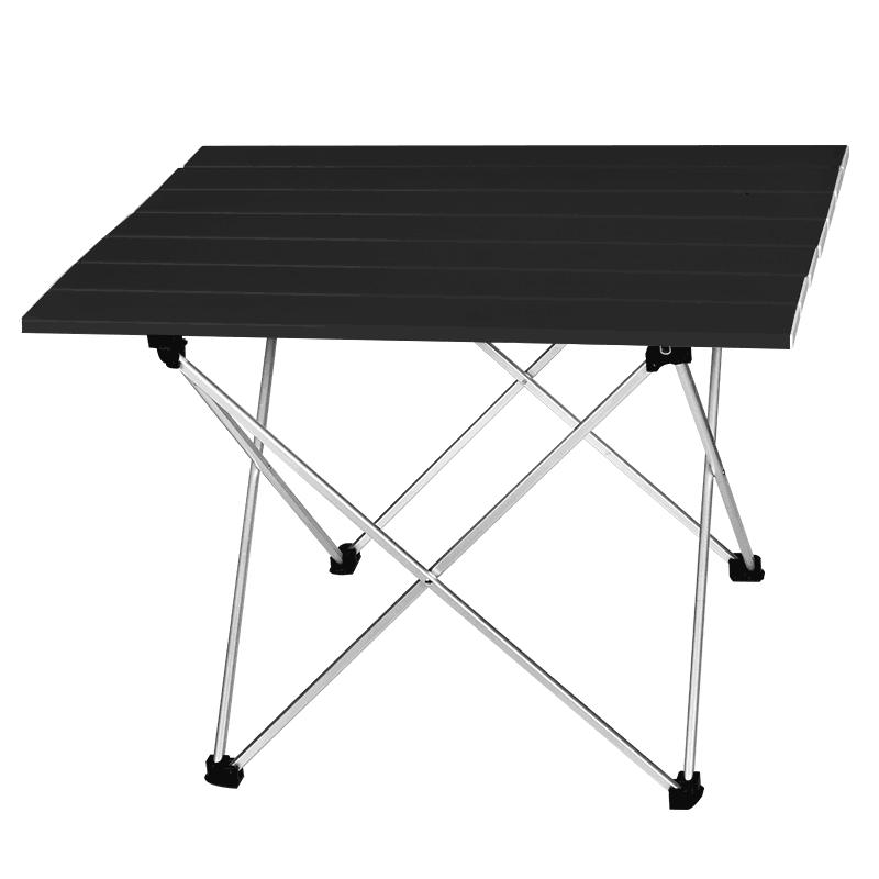 Mesa portátil de aleación de aluminio, mesa de Camping plegable ultraligera, escritorio de exterior para fiesta familiar, Picnic, mesa de barbacoa, muebles