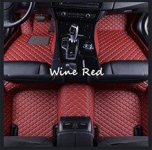 Pour Changan Alsvin V3 (2012-2016) 2013-2014-2015 cuir personnalisé Auto tapis de sol de voiture tapis de pied voiture style personnalisé
