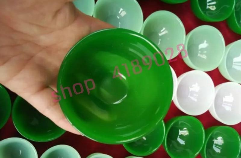 Jade afgano, copa de articulación de bambú, tazón de té/Copa de vino/taza de té de Kung Fu, 1 pieza