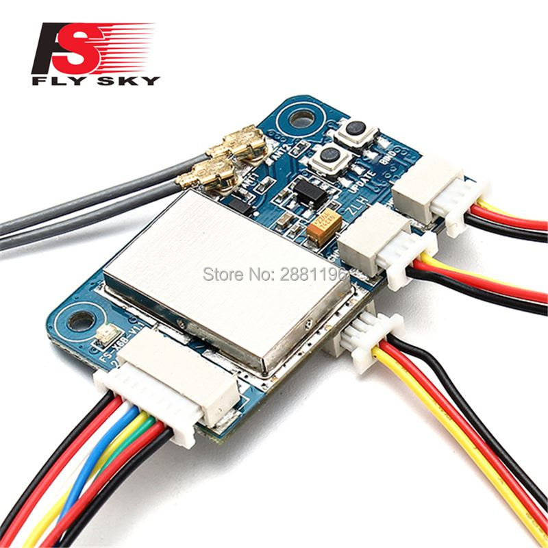Flysky X6B 2,4G 6CH i-bus PPM PWM receptor para AFHDS i10 i6s i6 i6x i4x transmisor RC FPV Racing Drone modelos piezas de repuesto