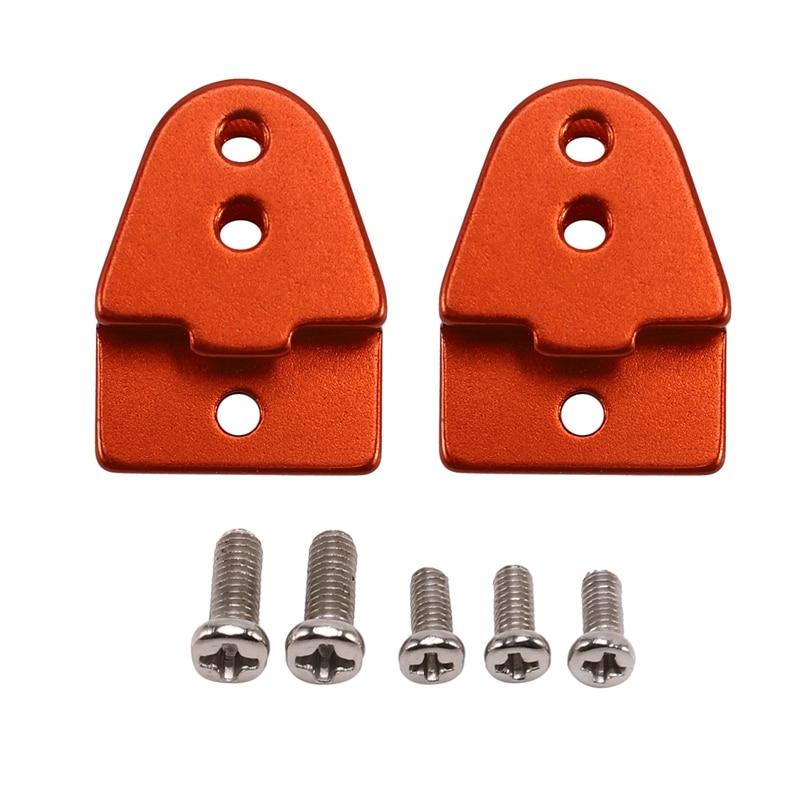 2 uds. Metal Lug Fits 1/16 WPL B14 B24 B16JJR / C Q60 Q65 camión RC modelo coche rojo