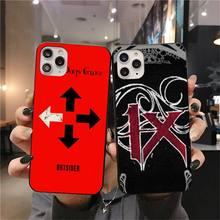 HUAGETOP üç gün grace Coque kabuk telefon kılıfı iPhone 11 pro XS MAX 8 7 6 6S artı X 5S SE 2020 XR durumda