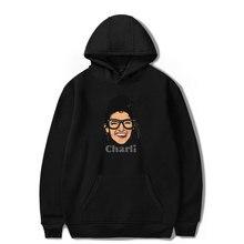 FRDUN TOMMY Charli Print Hoodies Sweatshirts for Men Women hoodie Internet celebrity Charli DAmelio Pullover Unisex Tracksuit