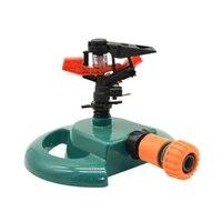adjustable garden lawn sprinkler with nozzle holder rotating water sprinkler rocker nozzles garden greenhouse watering 1pcs