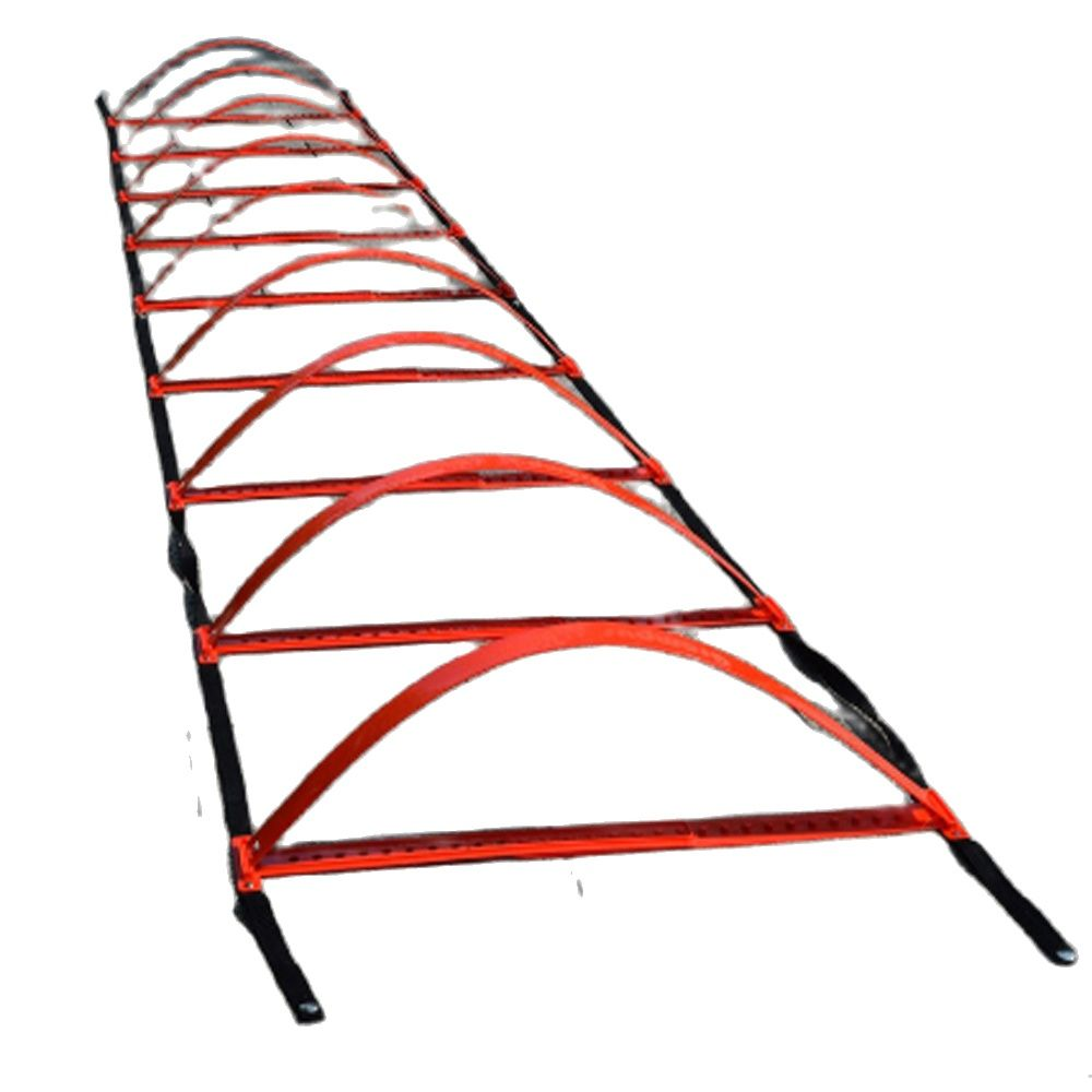 Factory wholesale high quality soccer Versatile dual purpose soccer double agile ladder football training equipment speed ladder