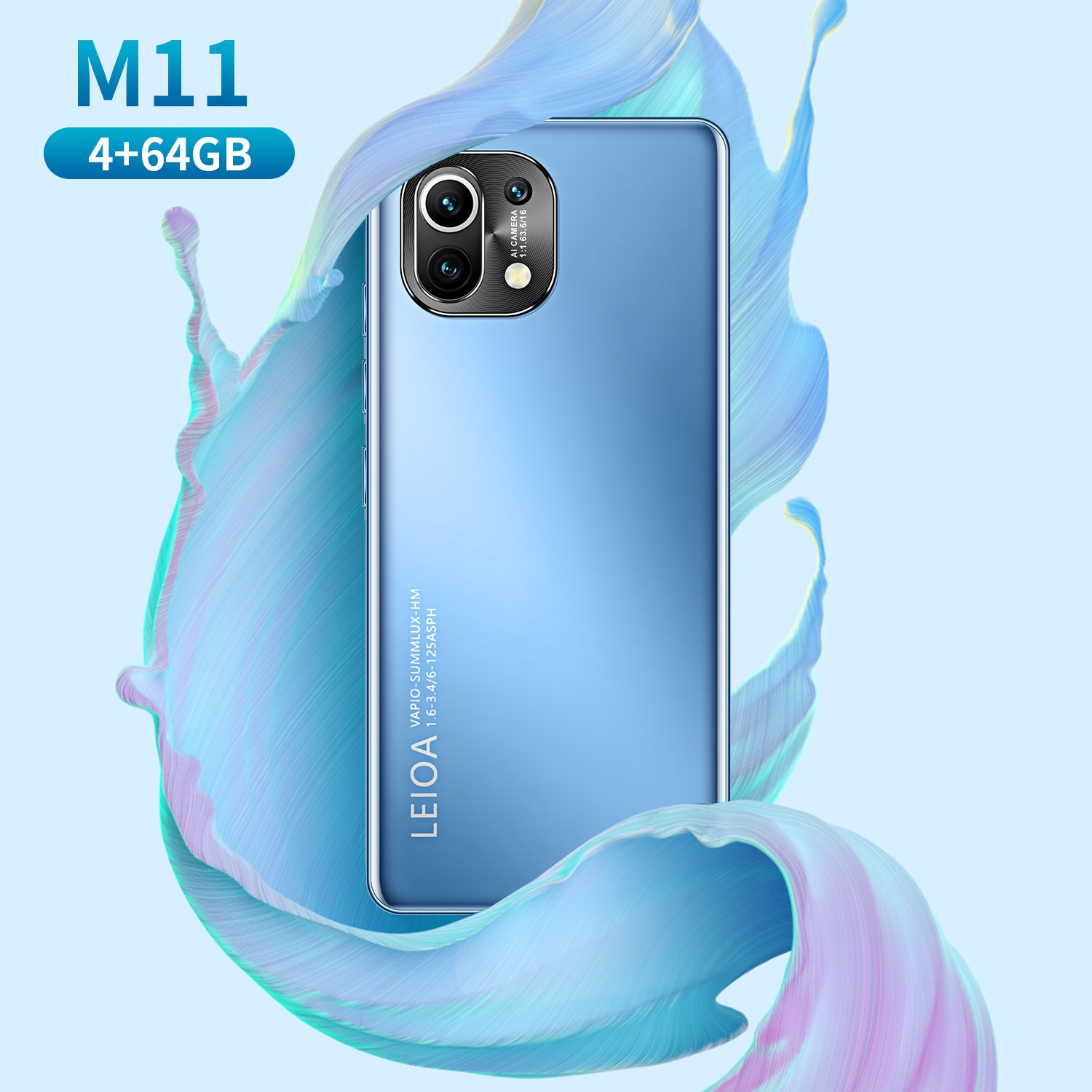 Top Selling Smartphone XIO M11 4G/5G LTE New Dual SIM 5.0Inch HD Screen Mobile Phone Snapdragon888 Sansumg Deca Core Cellphone