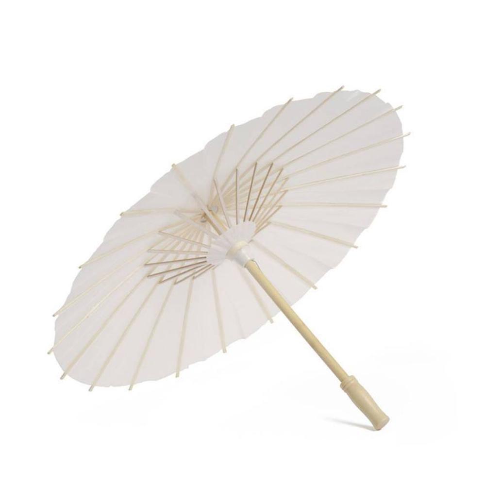 Mini parapluie en papier Vintage chinois bricolage   Nouveau, bon marché, style bricolage, pour séances Photo de mariage, Parasols accessoires de danse, décor de parapluie en papier huile de poche, 1 pièce