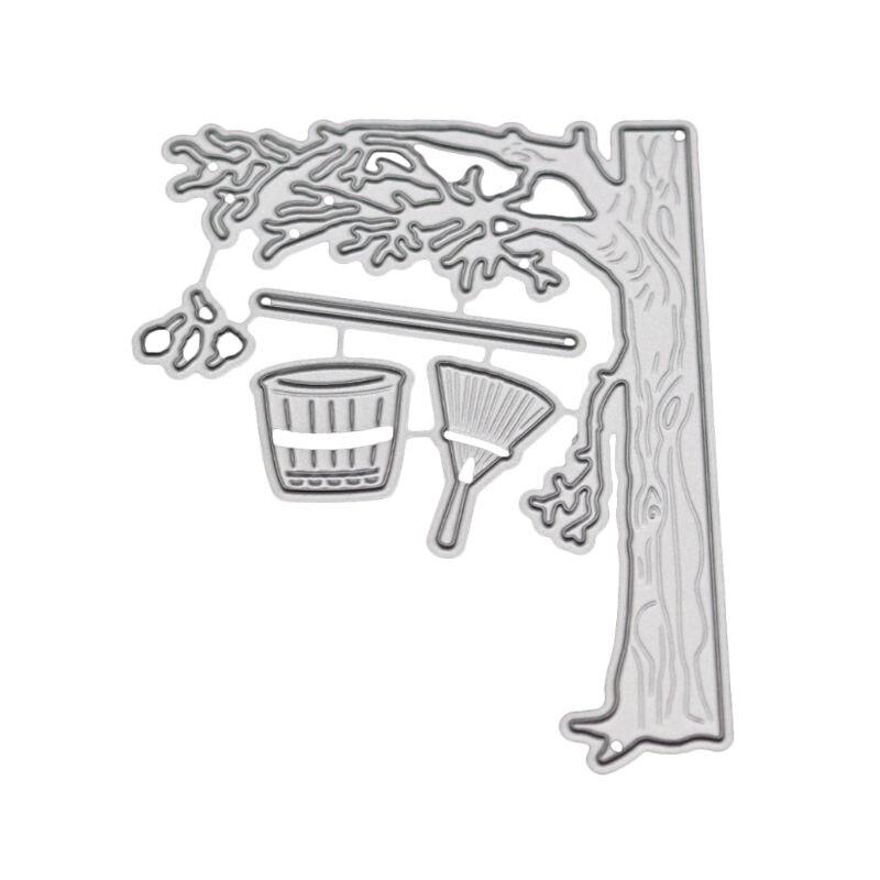 Troqueles de corte de Metal de otoño plantilla para álbum de recortes de bricolaje álbum de estampillas estampado de tarjeta de papel Craft Decor 95AA